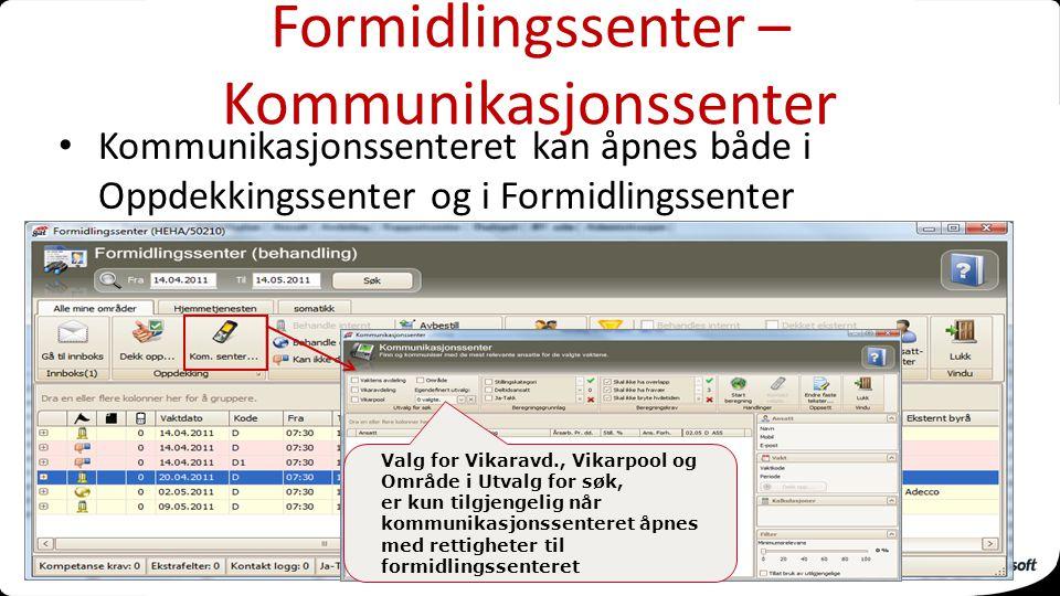 Formidlingssenter – Kommunikasjonssenter