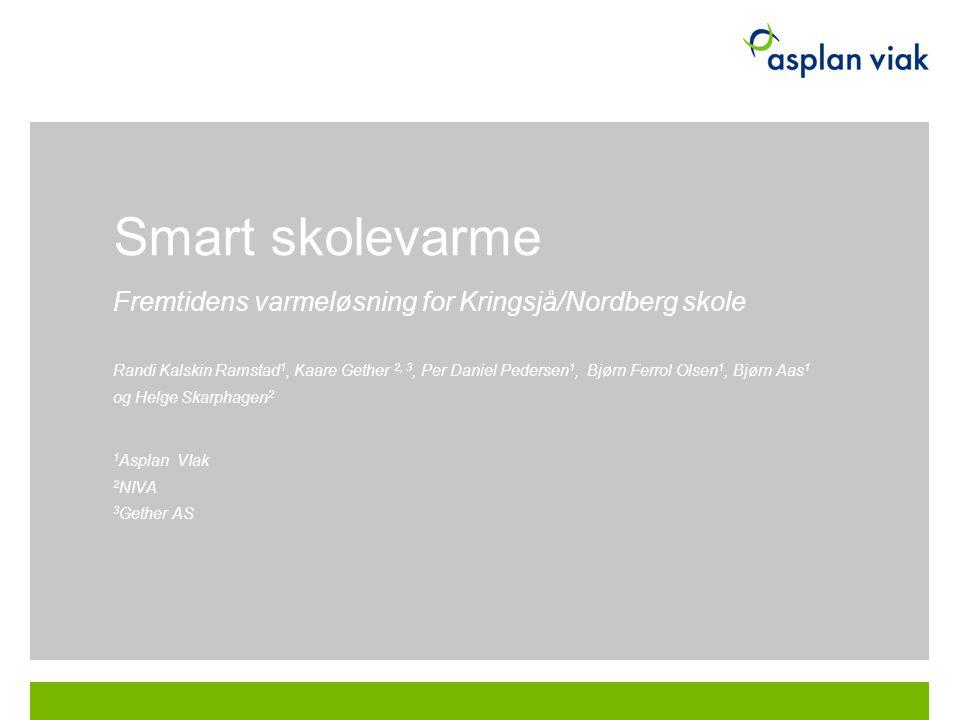 Smart skolevarme Fremtidens varmeløsning for Kringsjå/Nordberg skole