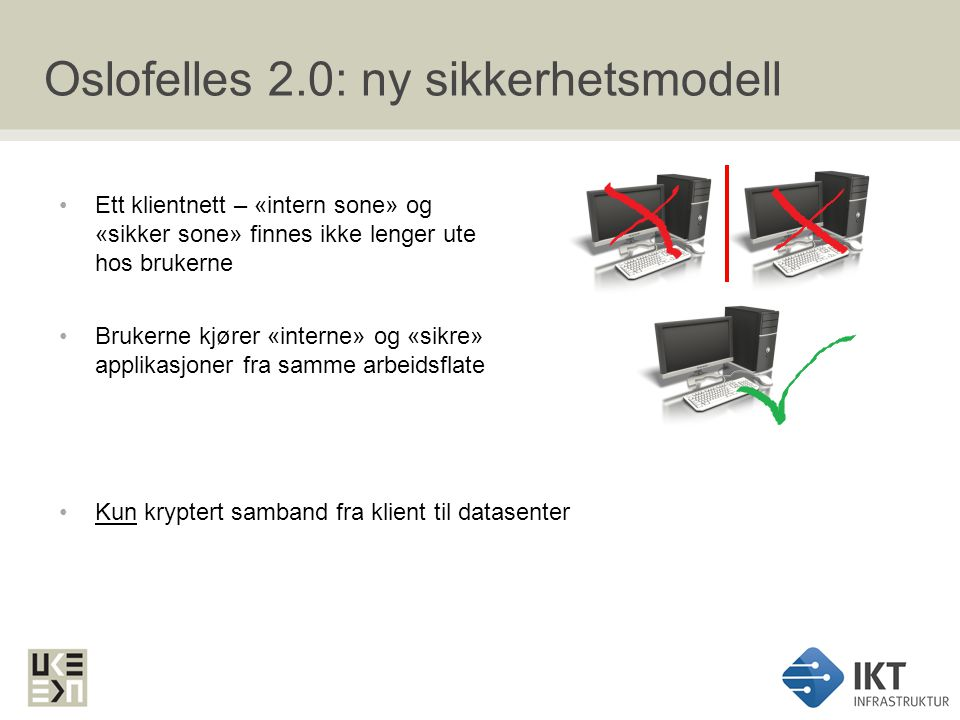 Oslofelles 2.0: ny sikkerhetsmodell