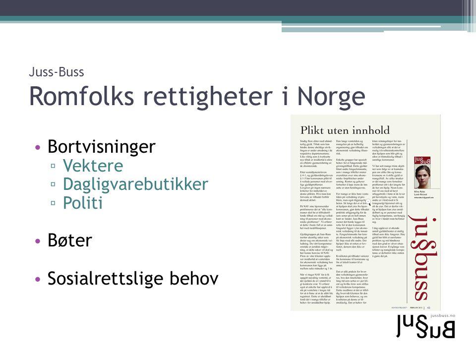 Juss-Buss Romfolks rettigheter i Norge