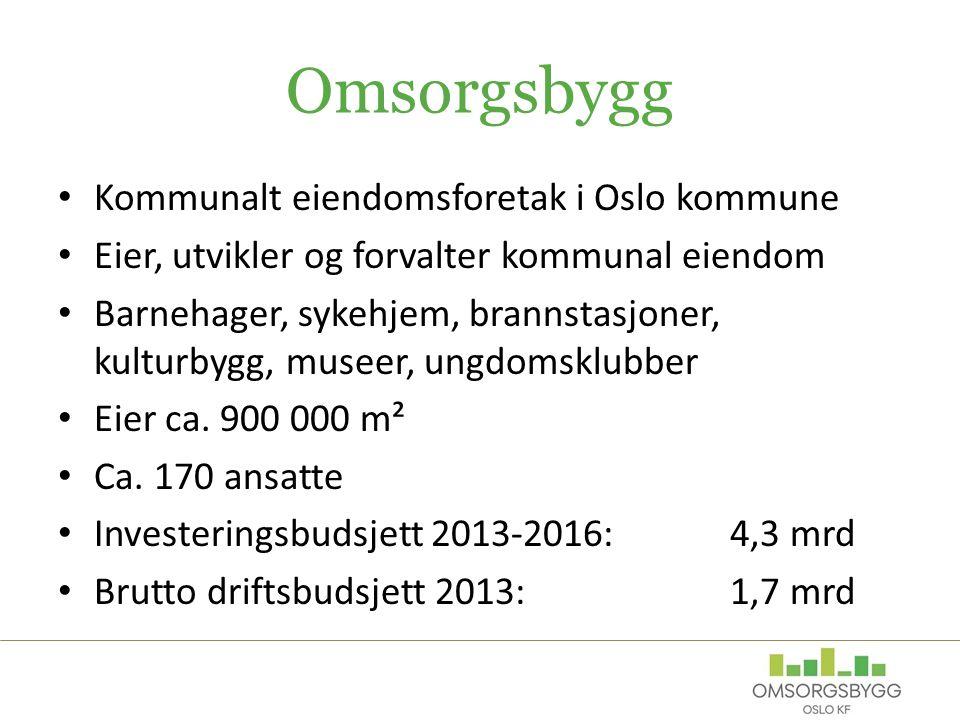 Omsorgsbygg Kommunalt eiendomsforetak i Oslo kommune