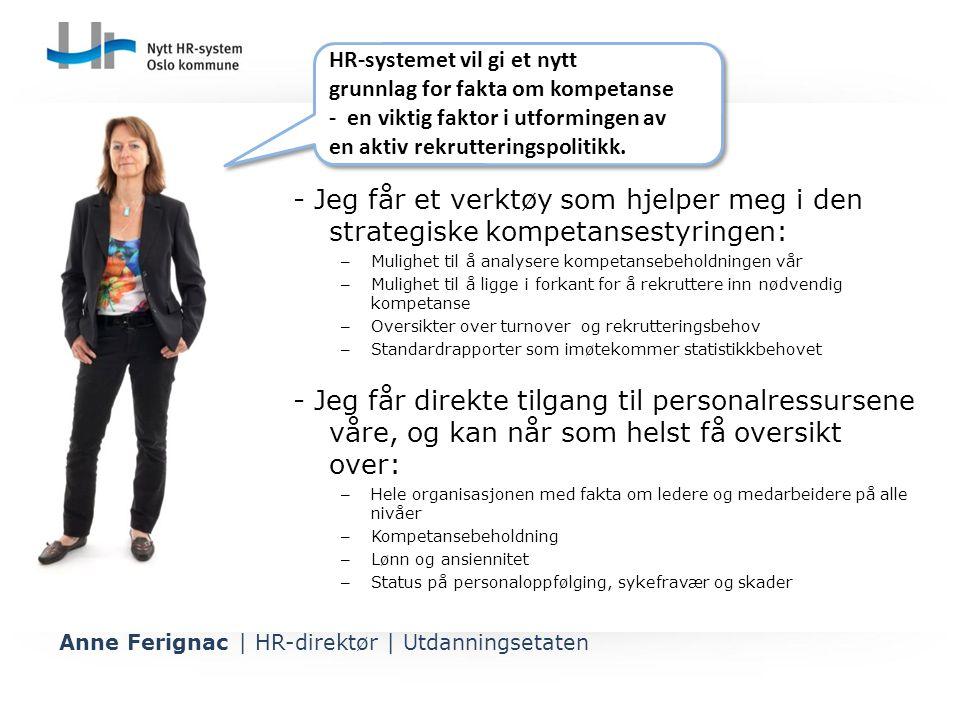 HR-systemet vil gi et nytt