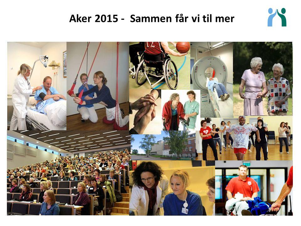 Aker 2015 - Sammen får vi til mer