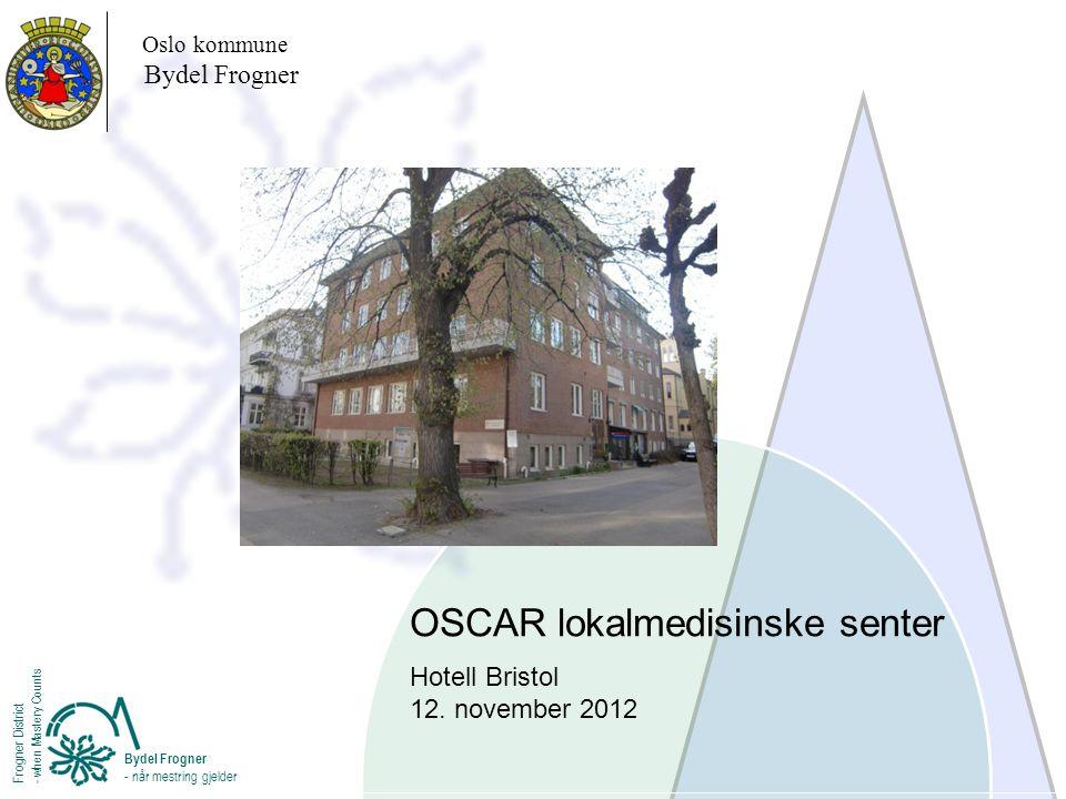 OSCAR lokalmedisinske senter