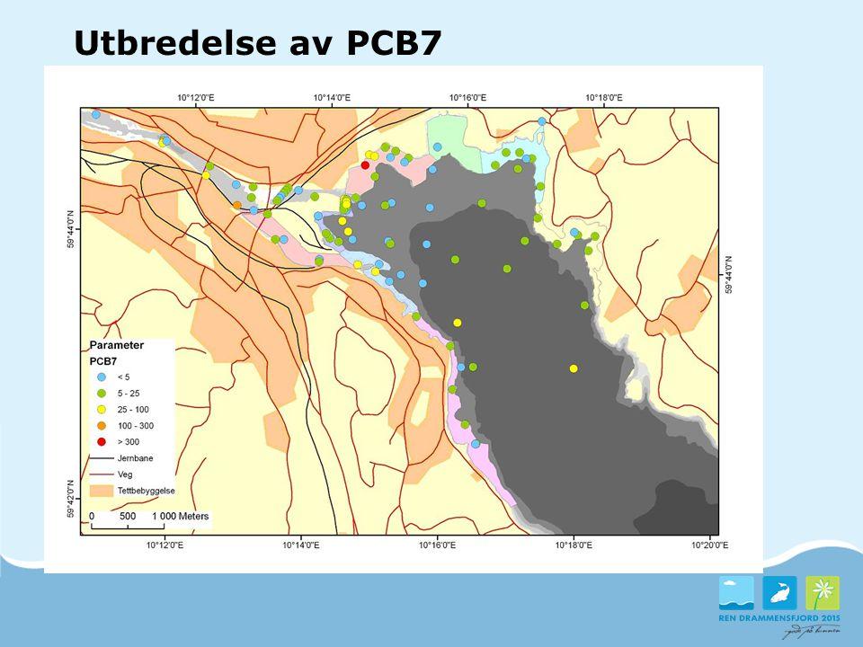 Utbredelse av PCB7