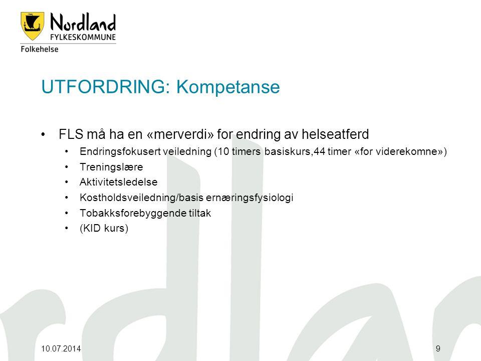 UTFORDRING: Kompetanse