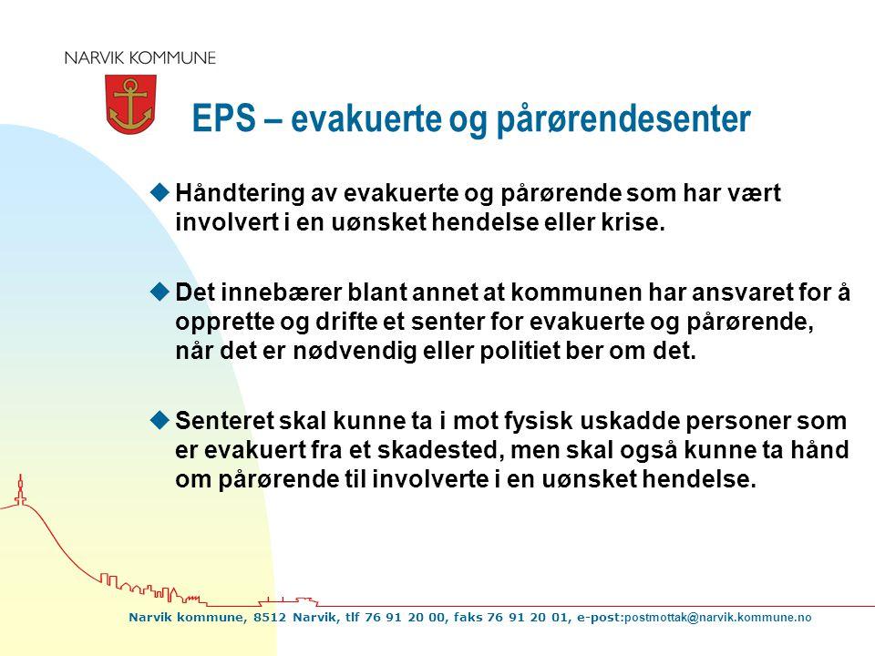EPS – evakuerte og pårørendesenter