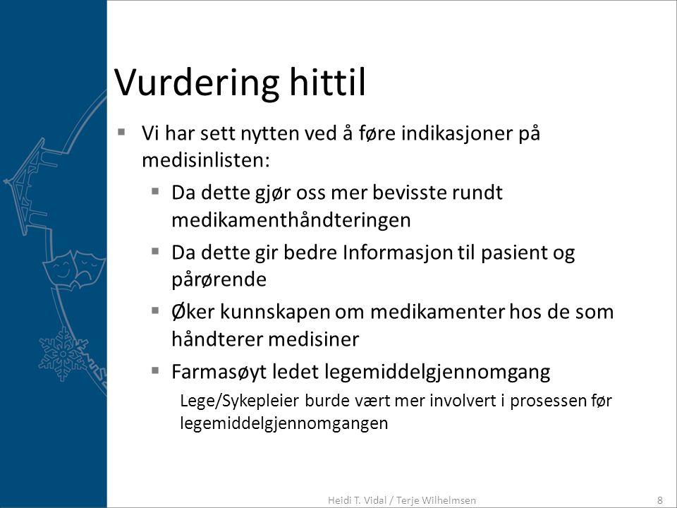 Heidi T. Vidal / Terje Wilhelmsen