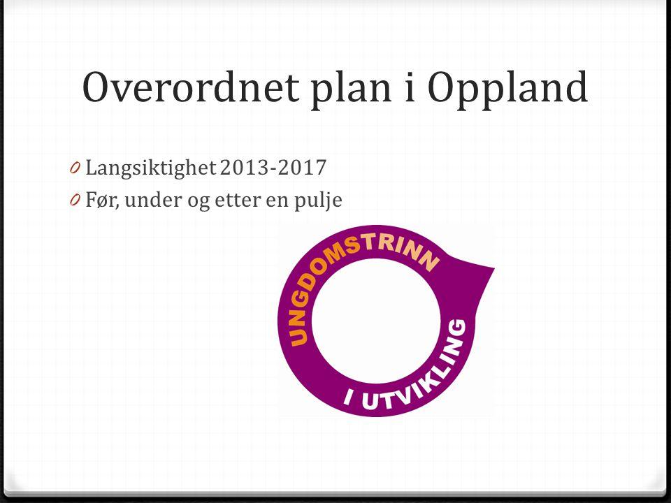 Overordnet plan i Oppland