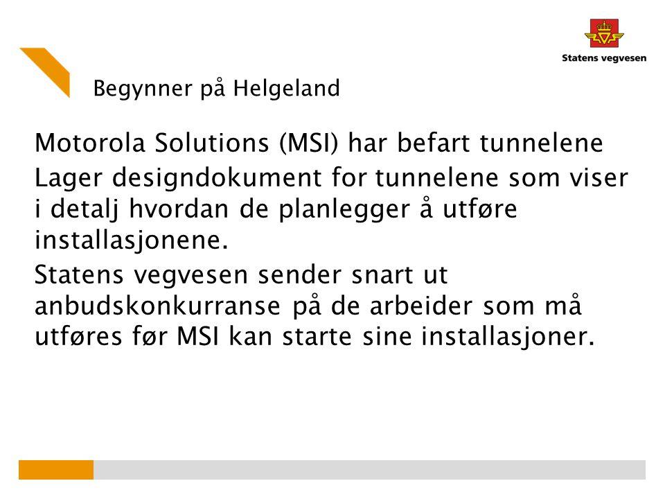 Begynner på Helgeland