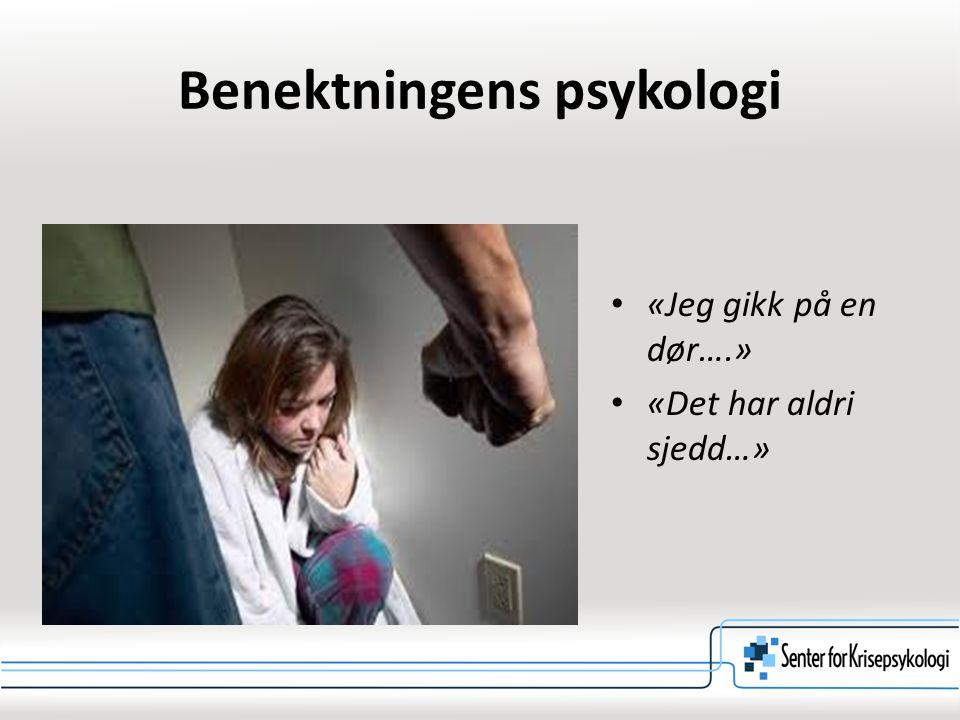 Benektningens psykologi