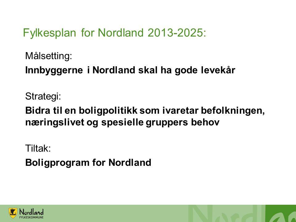Fylkesplan for Nordland 2013-2025: