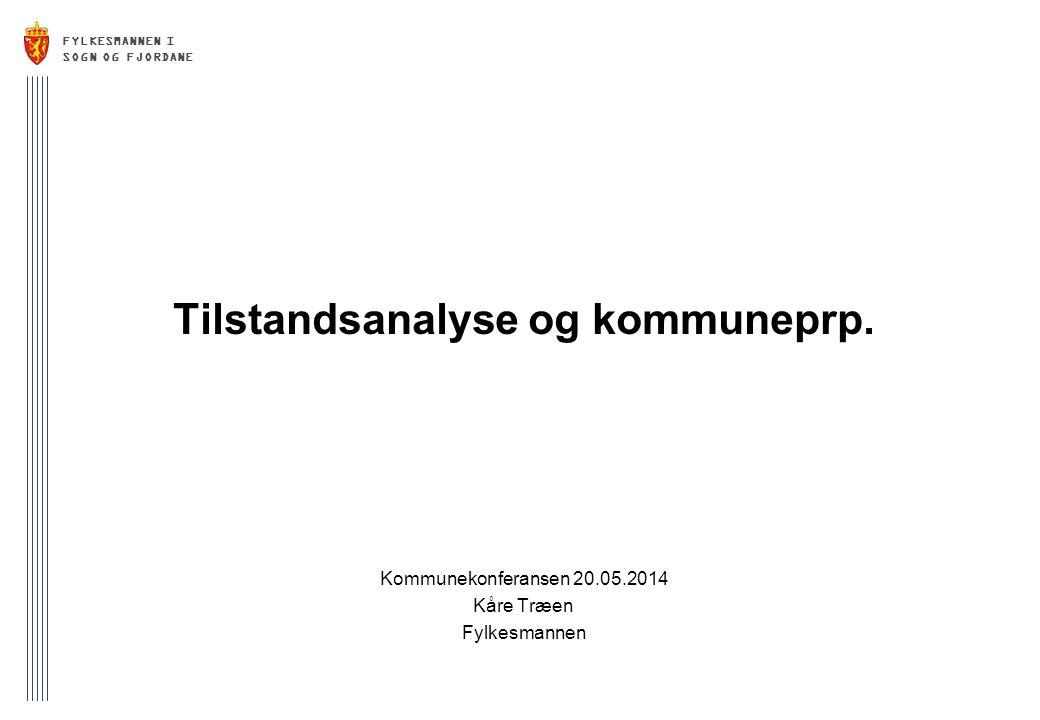 Tilstandsanalyse og kommuneprp.