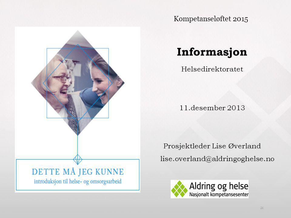 Prosjektleder Lise Øverland