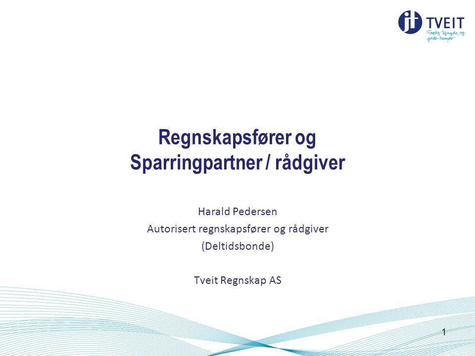 Regnskapsfører og Sparringpartner / rådgiver