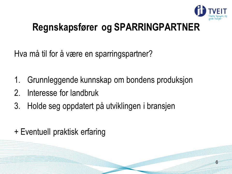 Regnskapsfører og SPARRINGPARTNER