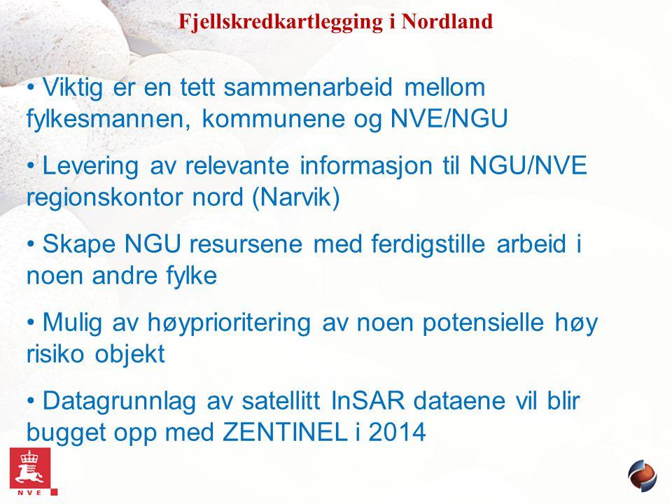 Fjellskredkartlegging i Nordland