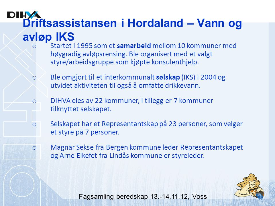 Driftsassistansen i Hordaland – Vann og avløp IKS
