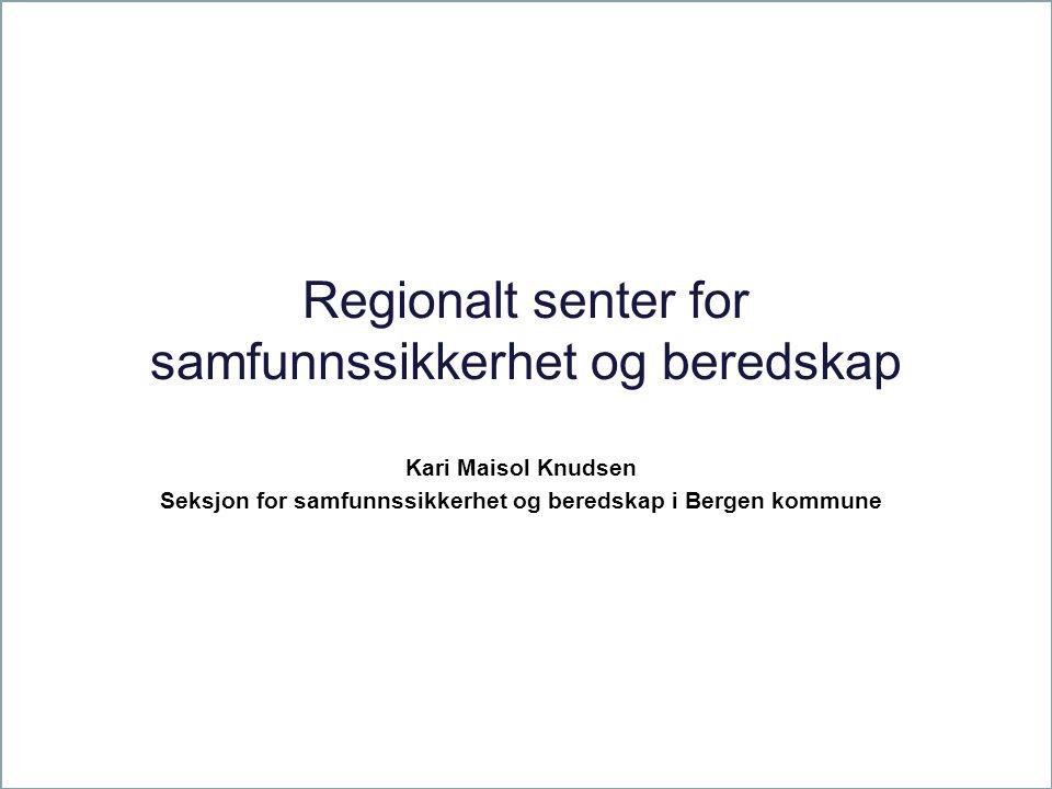 Regionalt senter for samfunnssikkerhet og beredskap