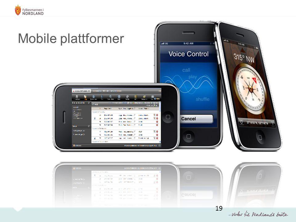 Mobile plattformer