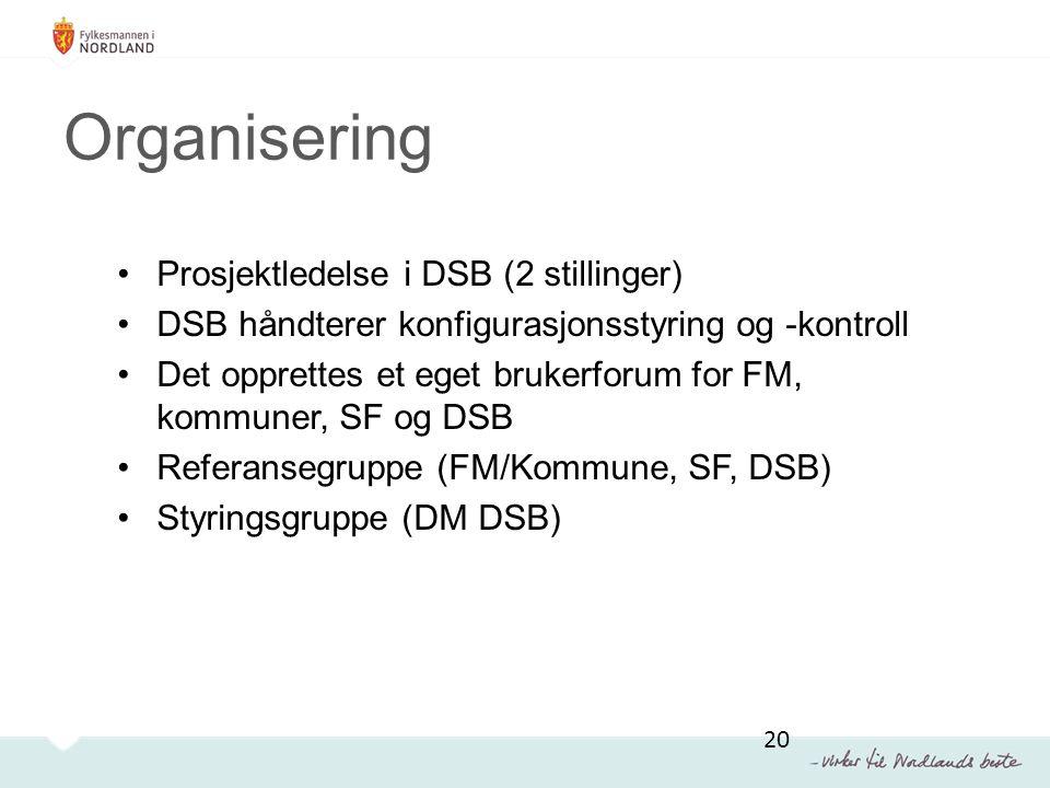 Organisering Prosjektledelse i DSB (2 stillinger)