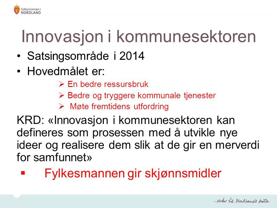 Innovasjon i kommunesektoren