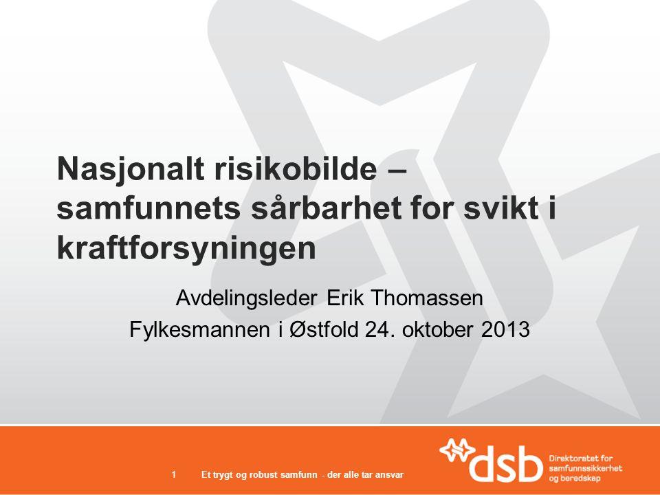 Avdelingsleder Erik Thomassen Fylkesmannen i Østfold 24. oktober 2013