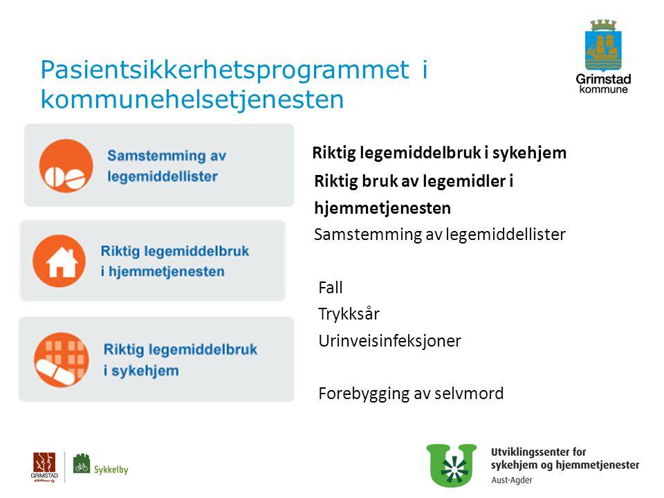 Pasientsikkerhetsprogrammet i kommunehelsetjenesten