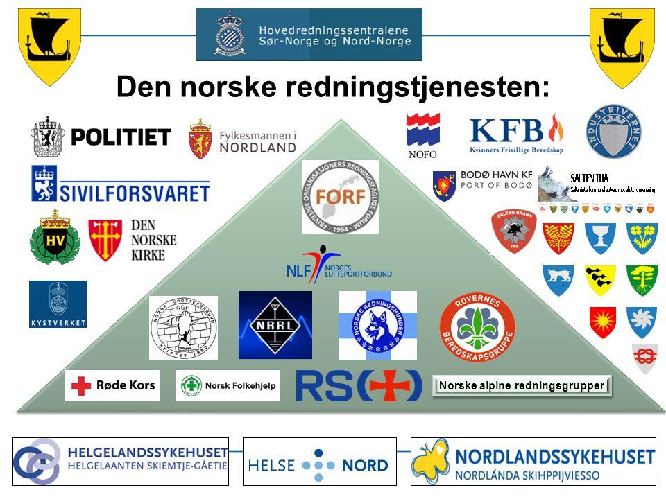 Den norske redningstjenesten: