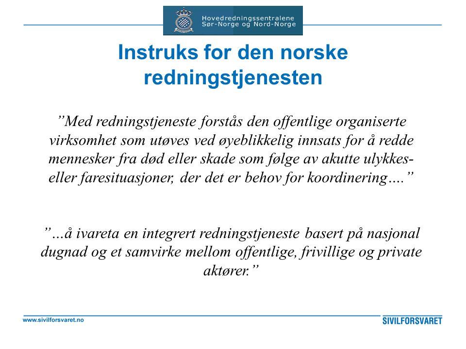 Instruks for den norske redningstjenesten