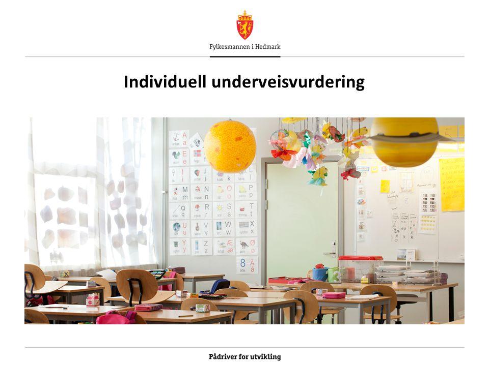 Individuell underveisvurdering