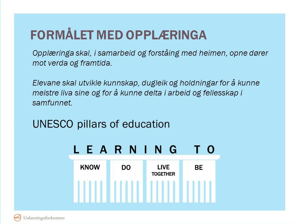 Formålet med opplæringa