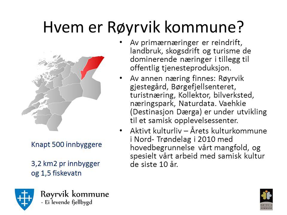 Hvem er Røyrvik kommune