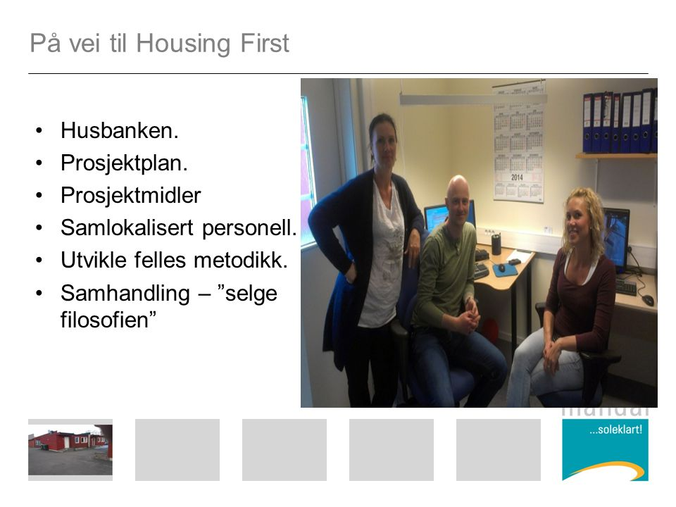 På vei til Housing First