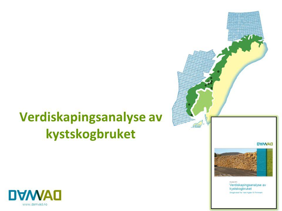 Verdiskapingsanalyse av kystskogbruket