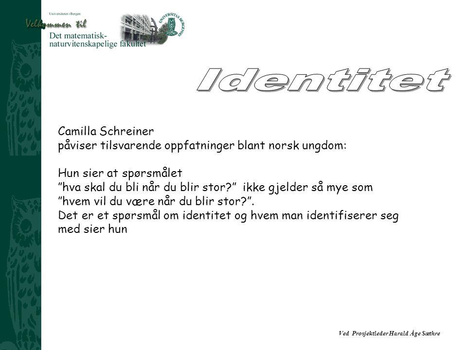 Identitet Camilla Schreiner
