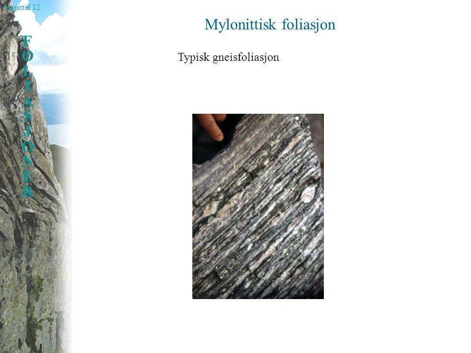 Mylonittisk foliasjon