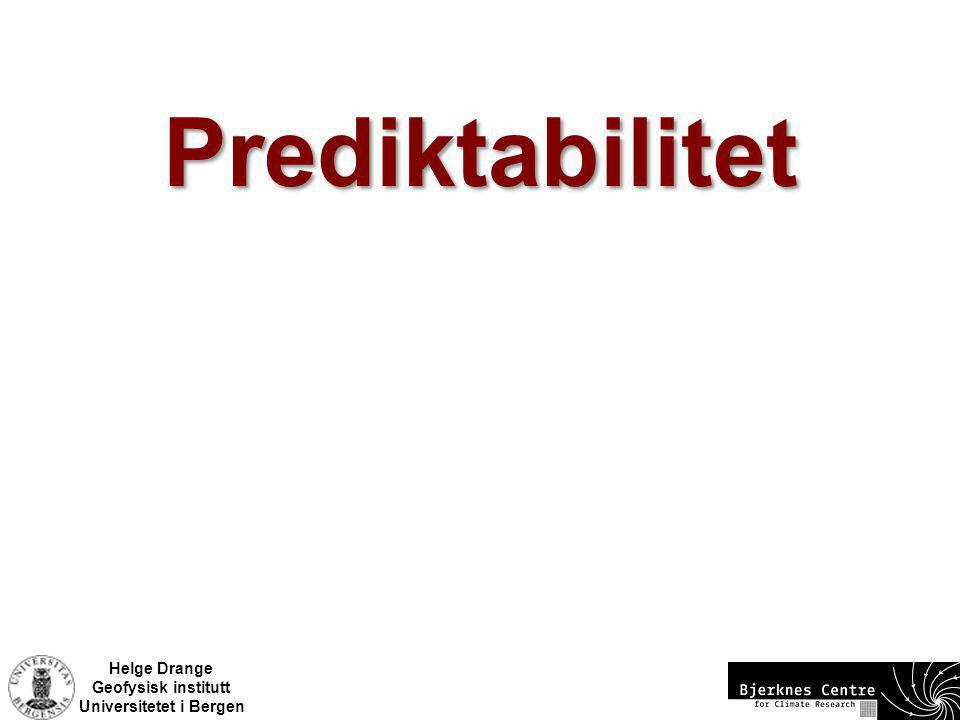 Prediktabilitet