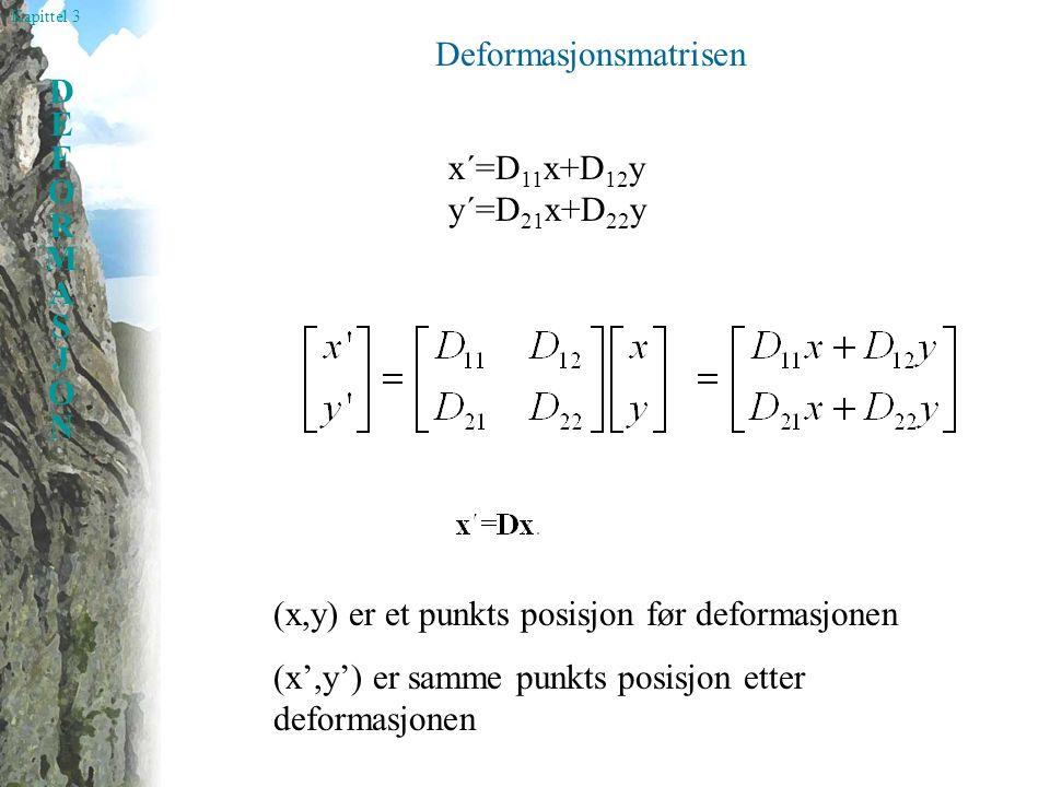 Deformasjonsmatrisen