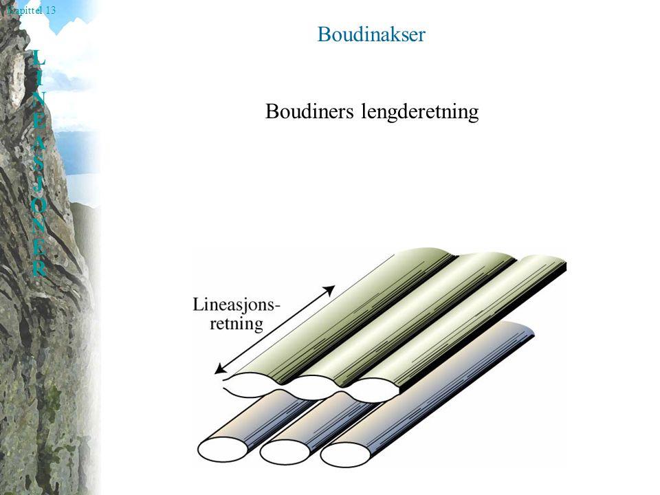 Boudinakser Boudiners lengderetning