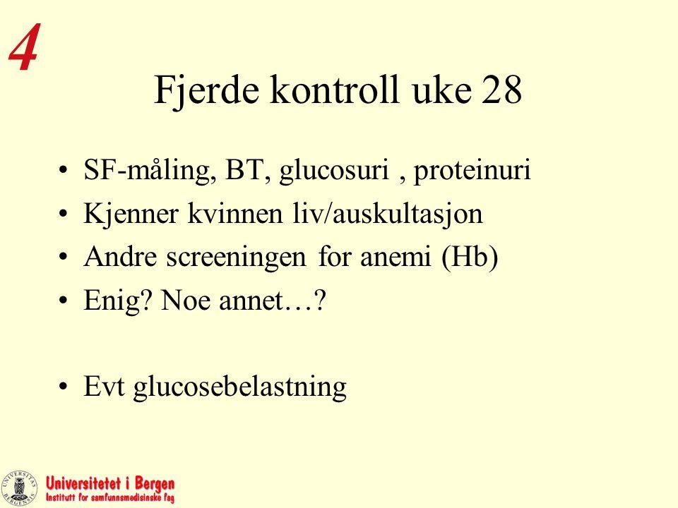 Blodtyping og påvisning av antistoffer