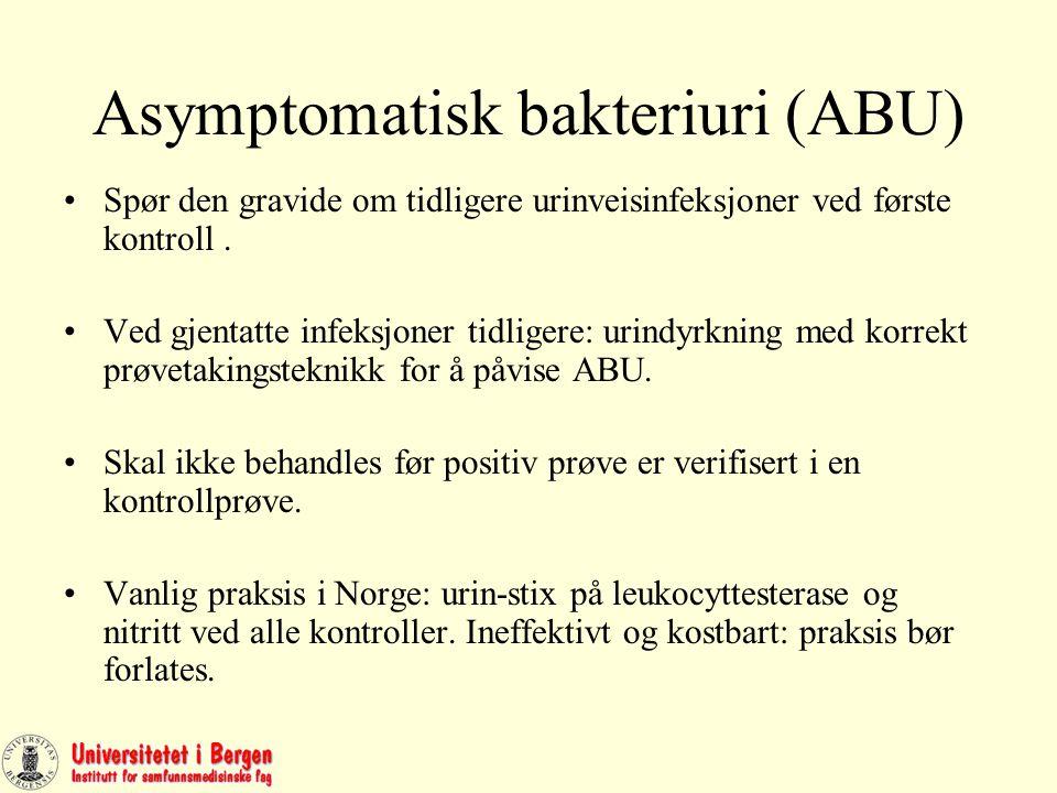 Asymptomatisk bakteriell vaginose