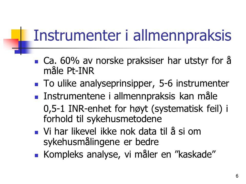 Instrumenter i allmennpraksis