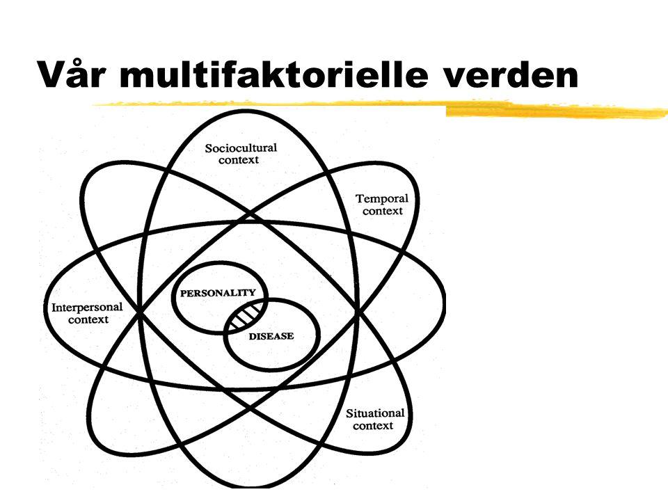 Vår multifaktorielle verden