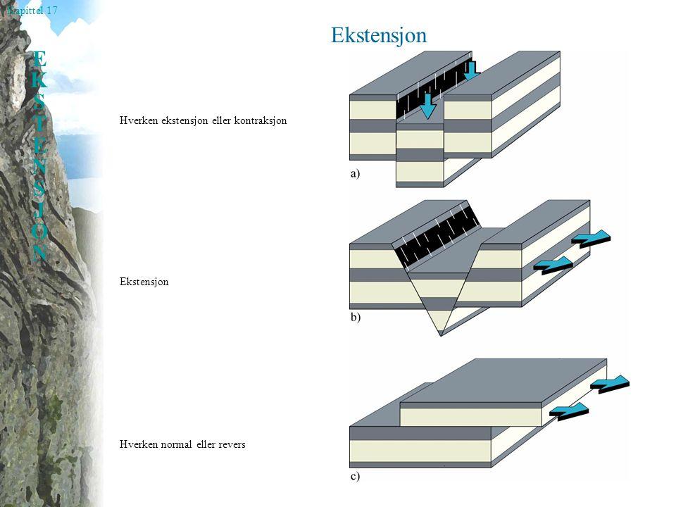 Ekstensjon Hverken ekstensjon eller kontraksjon Ekstensjon