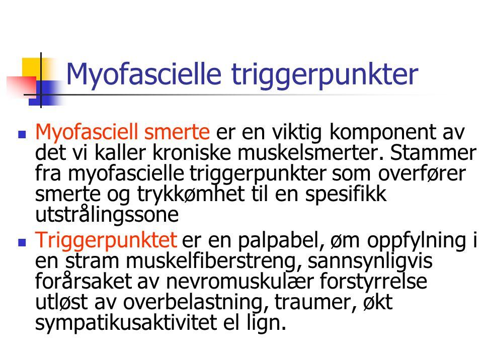 Myofascielle triggerpunkter
