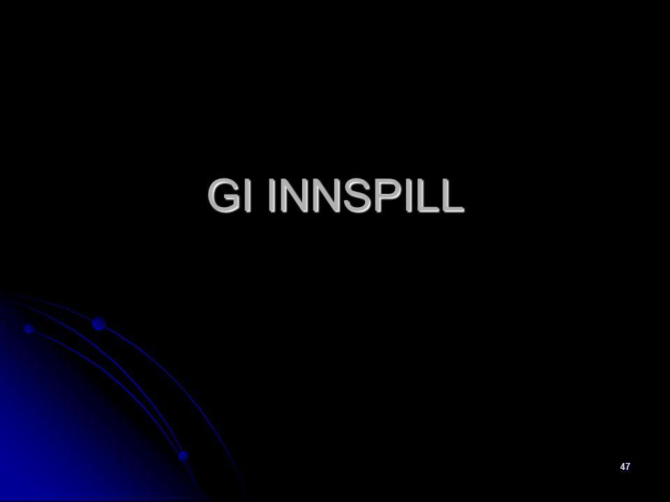 GI INNSPILL