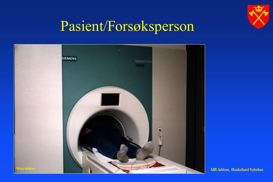 Pasient/Forsøksperson