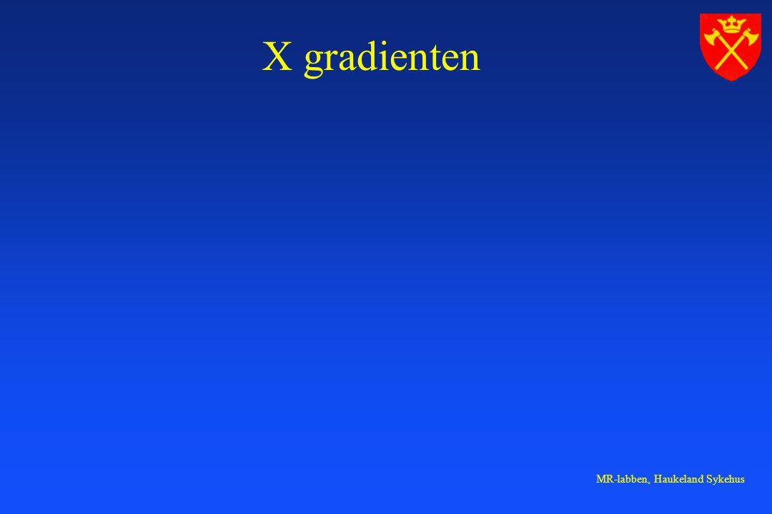 X gradienten