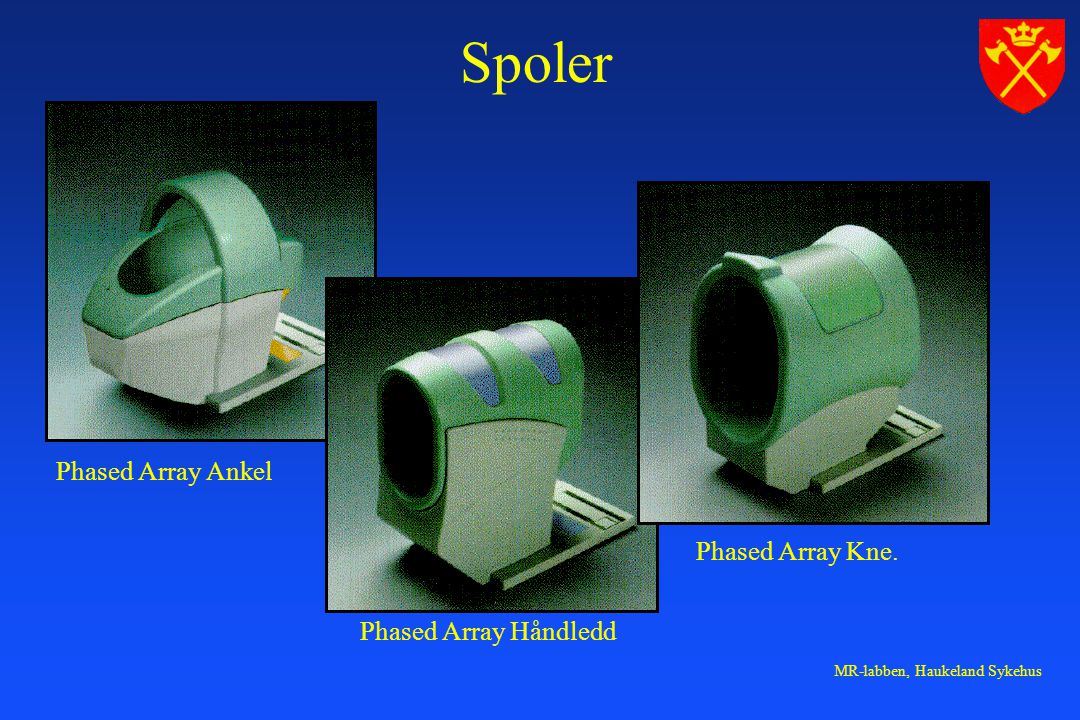 Spoler Phased Array Ankel Phased Array Kne. Phased Array Håndledd
